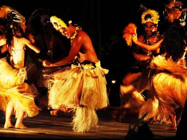 Spectacular Over Water Night Show & Buffet Dinner, Rarotonga Attractions, Cook Islands