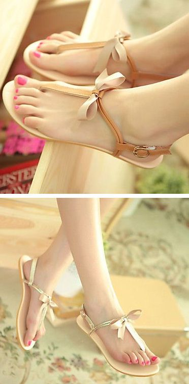 Super cUte Bow Sandals ღ