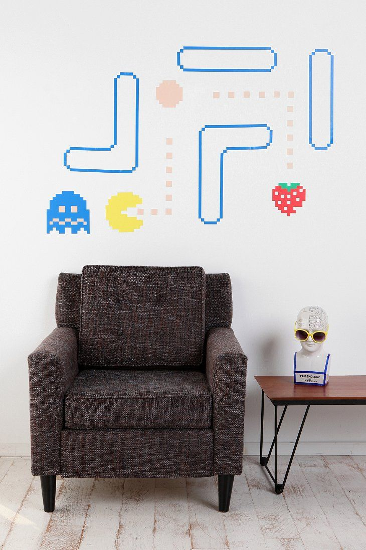 451 best the retro gamer in me images on pinterest bead pac man wall decals