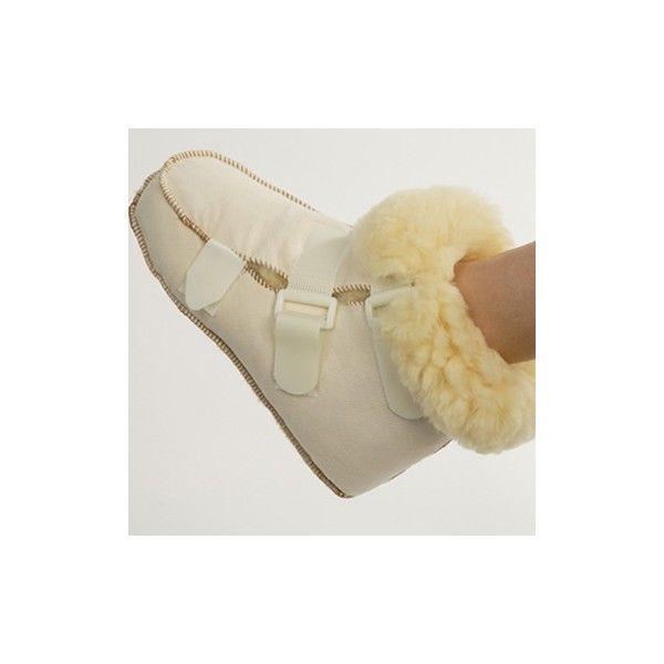 BOTA DE LANA NATURAL - REF: FP95: Para personas con problemas de circulación o que padecen problemas de termorregulación en los pies. Relajación y alivio del dolor. Fabricado de pura lana.