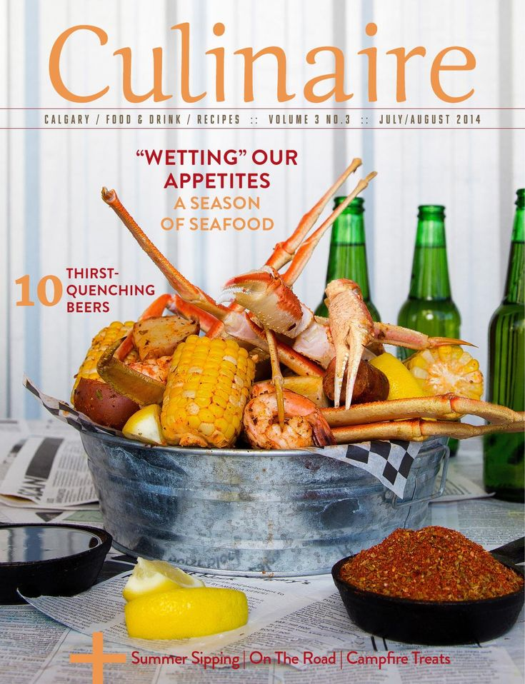Culinaire #3/3 (July/August 2014)