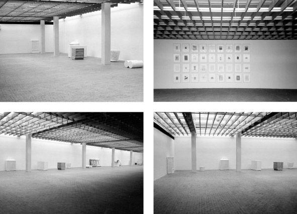 Akademie der Künste Berlin, Objekte und Zeichnungen 26.08.-14.10.2001
