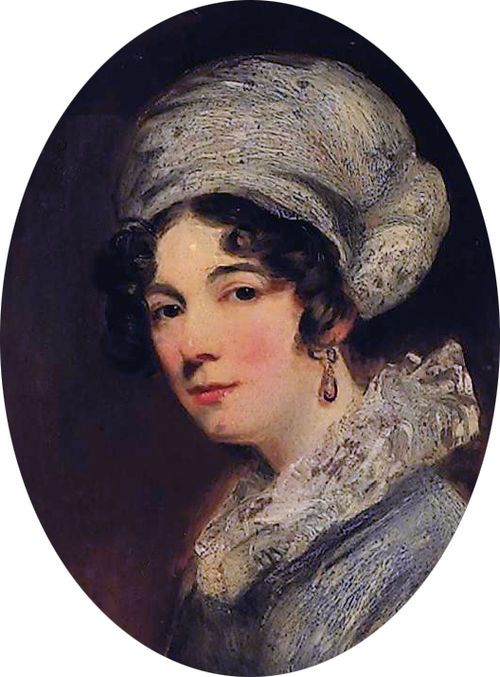 Sarah Spencer (1787-1870), wife of William, 3rd Baron Lyttelton by John Jackson (1778-1831) cropped.jpg