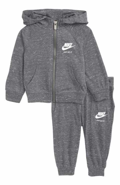 f6a40960db Nike Zip-Up Hoodie & Pants Set (Baby Girls) | Baby Girl Clothes ...