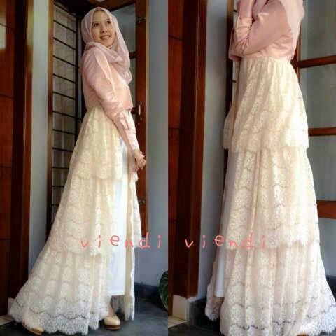 Romantic Pink Maxi Dress Spandex White Lace