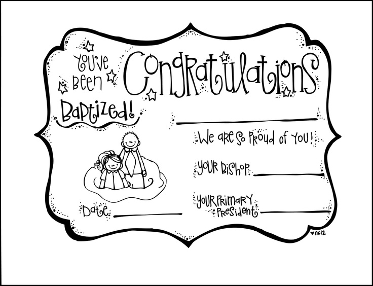 congratulations on baptism - Baptism Coloring Pages Printables