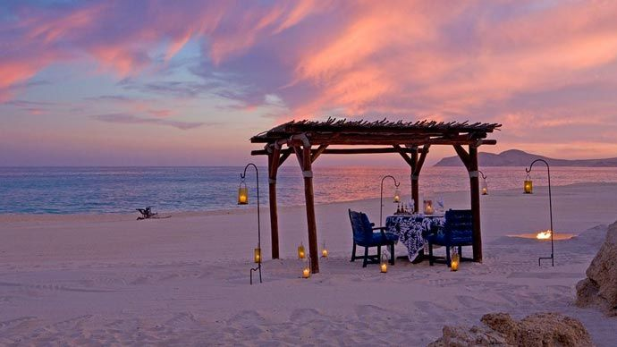 Sandy beach near Las Ventanas Rosewood Resort in Los Cabos Mexico. Read more at jebiga.com #hotels #resort #mexico