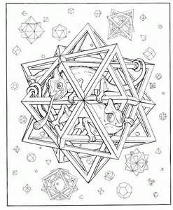 psychedelic mushroom coloring pages ice lineartliquidmushroom  geometric coloring pages