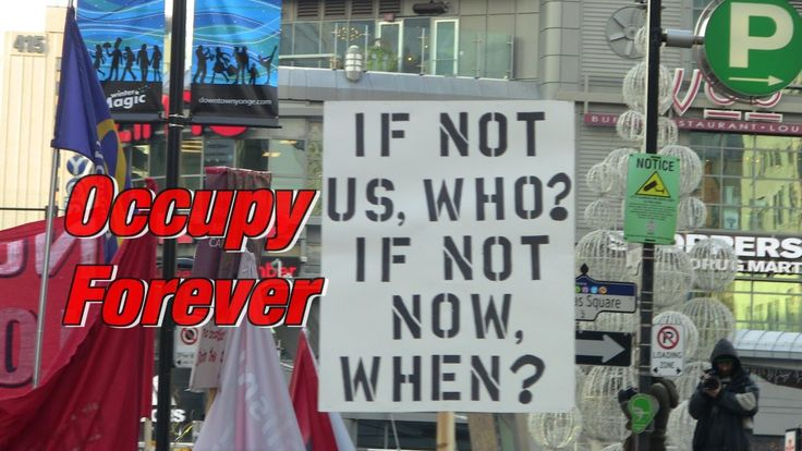 OCCUPY FOREVER