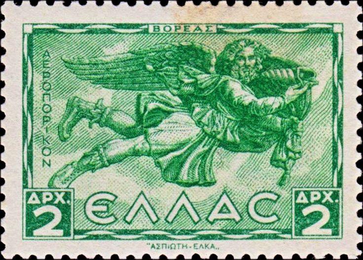 1942+Boreas+–+god+of+North+wind ΑΝΕΜΟΙ 1942 Α΄ΕΚΔΟΣΗ