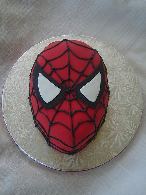 17 best images about spider man cake on pinterest for Spiderman template for cake