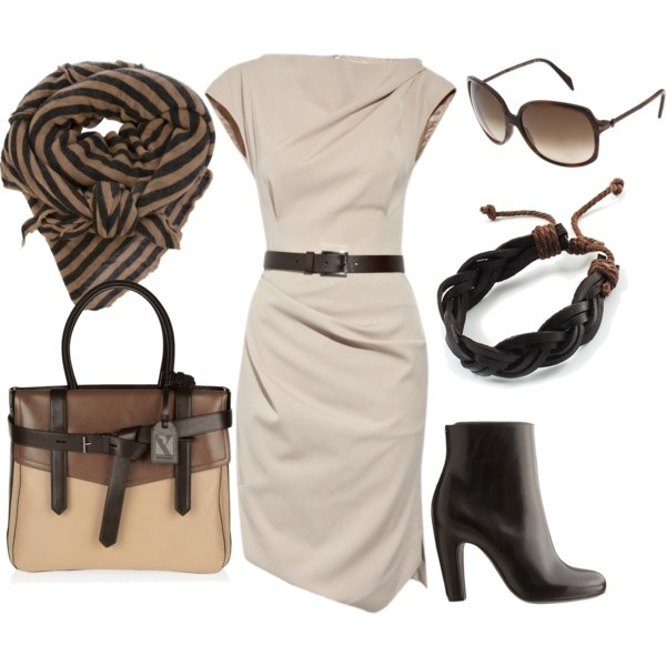 brown, beige, and caramel: Caramel Adorable, Beige Dresses, The Dress, Get Skinny, Chic Brown, Caramel Minus, Caramel I, Boots, Perfect Outfits