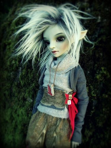 Isi's new faceup! (and outfit)  resinsoul ming bjd