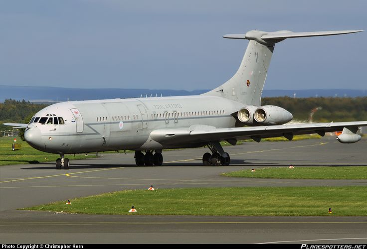 XV105 Royal Air Force Vickers VC-10 C.1K at RAF Brize Norton. Flew on one of these to Belize in 2005 whilst still serving, amazing trip