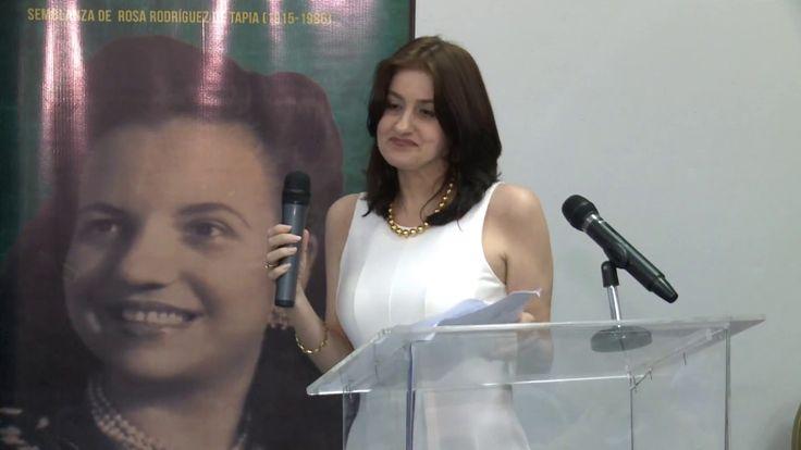 Feria Internacional del libro  Presentación de Vida de compromiso de Rose Marie Tapia
