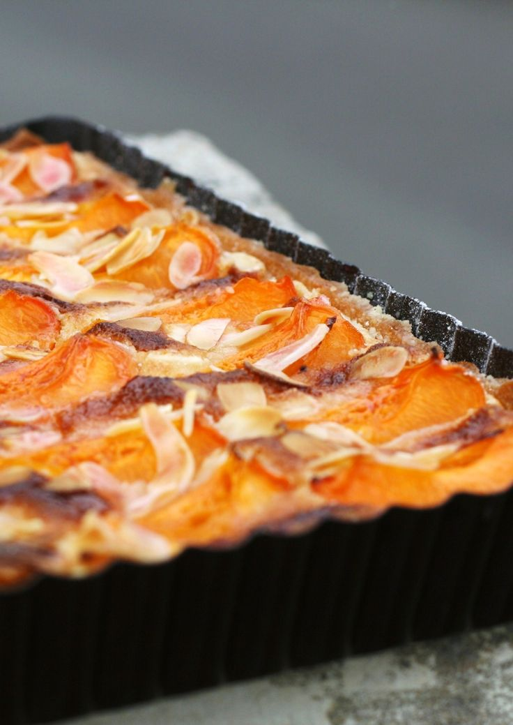 tarte aux abricots et aux amandes blog de cuisine. Black Bedroom Furniture Sets. Home Design Ideas