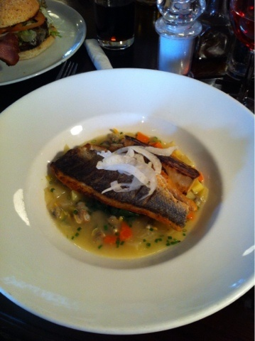 Seabass @ The Victoria Holkham