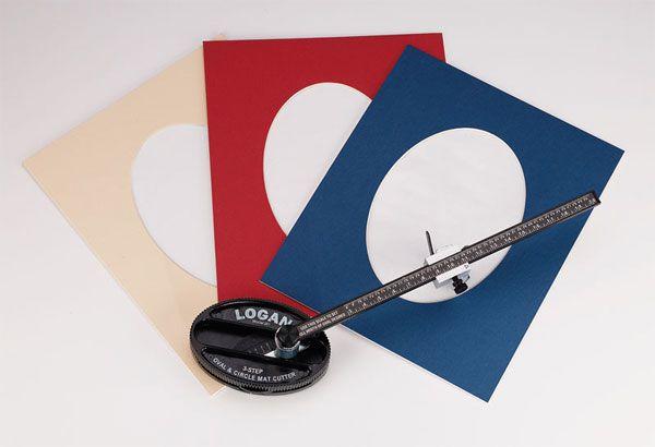 Logan 201: Oval & Circle Mat Cutter