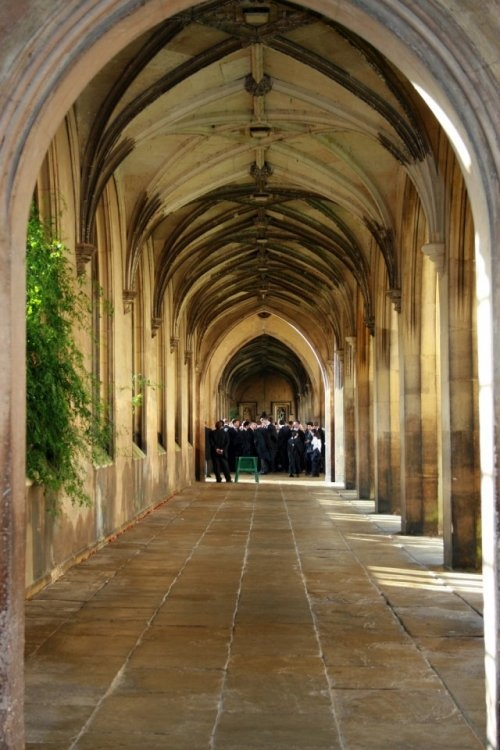 St. John's College, University of Cambridge - I used to walk through this every day to and from work