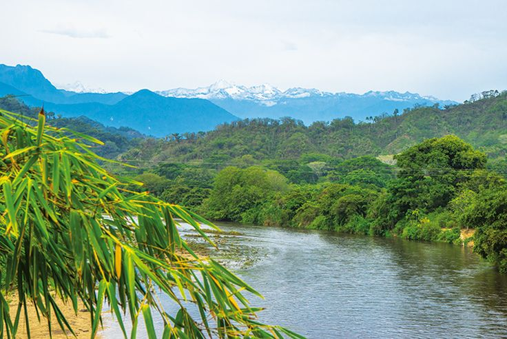 Colombia's Tayrona National Park is a tangle of jungle in which ancient tribes still live