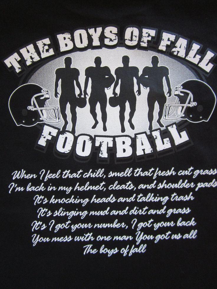 Unisex The Boys of Fall Football TShirt Available by Blingitonme, $15.50