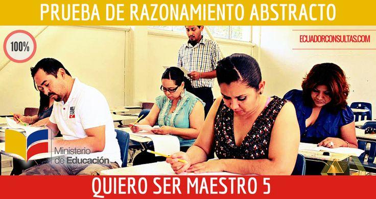 Descargar Prueba de Razonamiento Abstracto - Quiero Ser Maestro 5 Ecuador