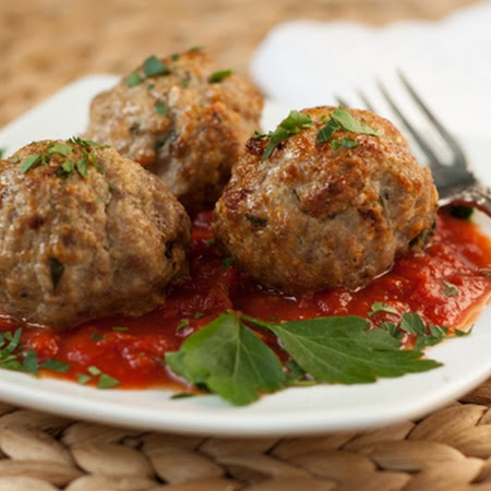 Turkey Meatballs Recipe | Key Ingredient | Light & Lean | Pinterest