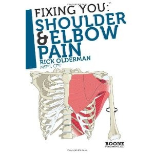 Fixing You: Shoulder & Elbow Pain: Self-treatment for rotator cuff strain, shoulder impingement, tennis elbow, golfer's elbow, and other diagnoses. (Paperback)  http://www.amazon.com/dp/0982193734/?tag=23taf-20  0982193734