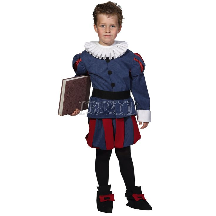Disfraz Cervantes para niño - Dresoop.es