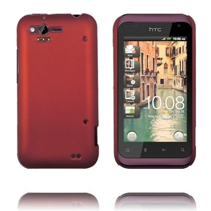 Hard Shell (Rød) HTC Rhyme Deksel