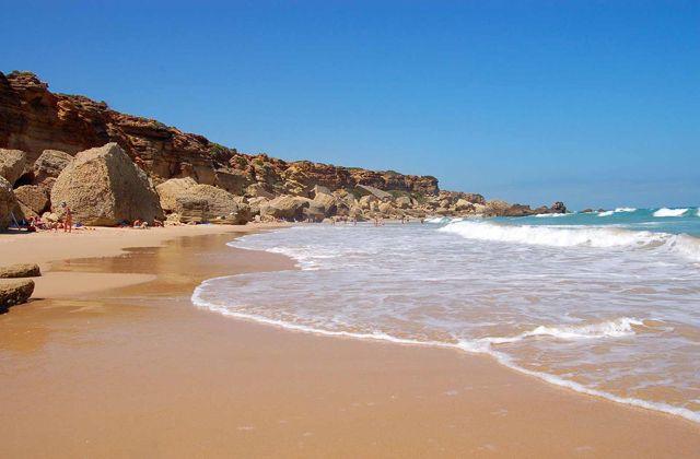 Playa de la Barrosa (Chiclana de la Frontera, Cádiz)