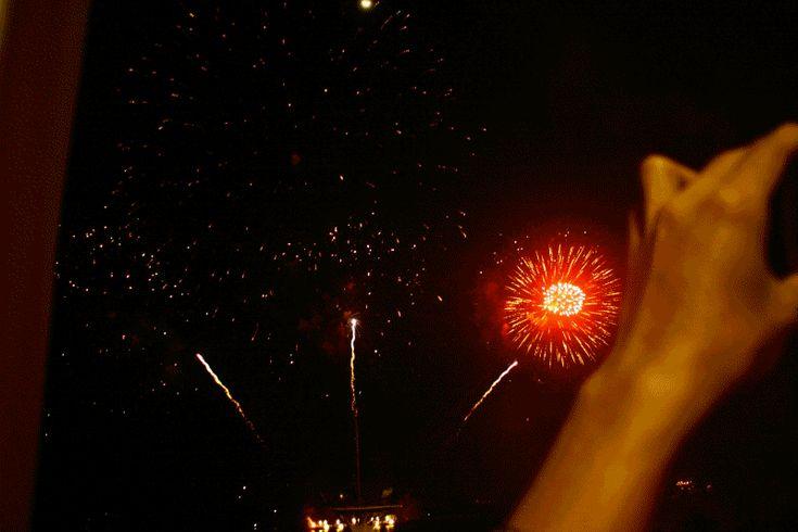 Animated Fireworks | fireworks animated GIF
