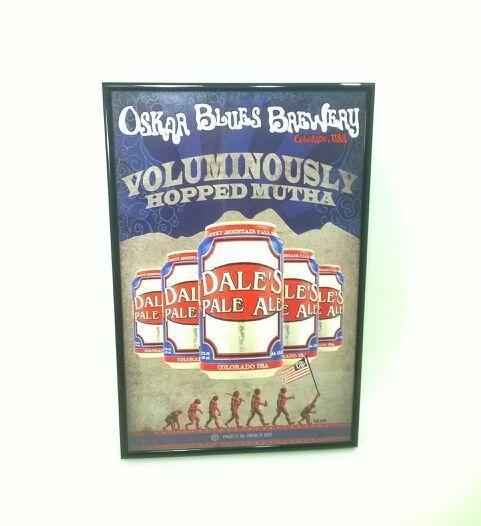 Oskar Blues Brewery Rare Poster