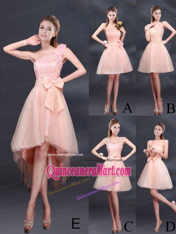 Atractivo Diseño Del Vestido De La Dama De Honor En Línea Modelo ...