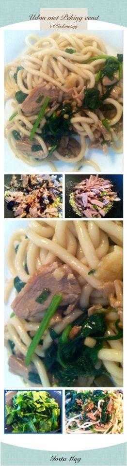 Yehh @Udon tijd weer en deze keer met Chinese groente en Peking eend van @KookMetMij