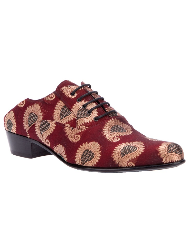 Haider Ackermann Silk Oxford Shoe