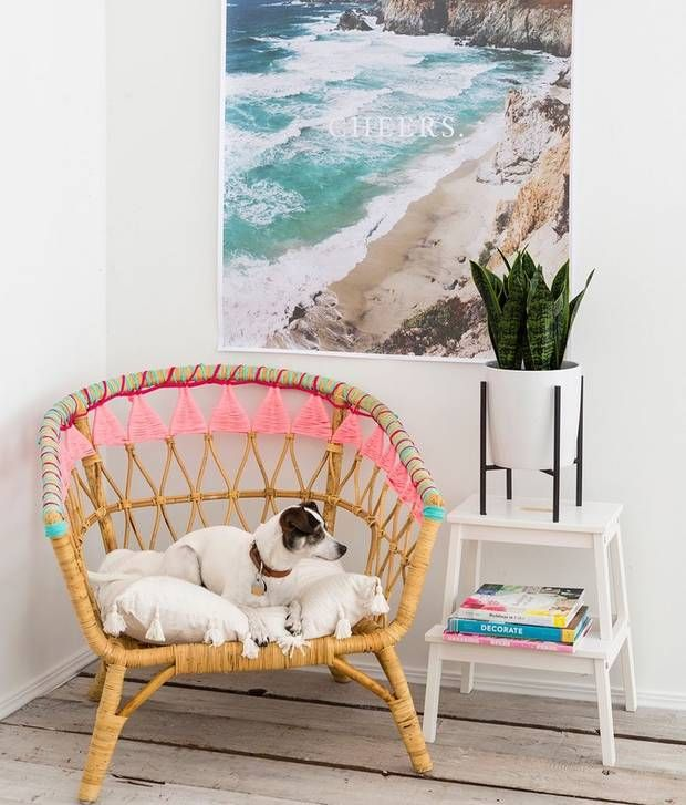 personalize your rattan chair