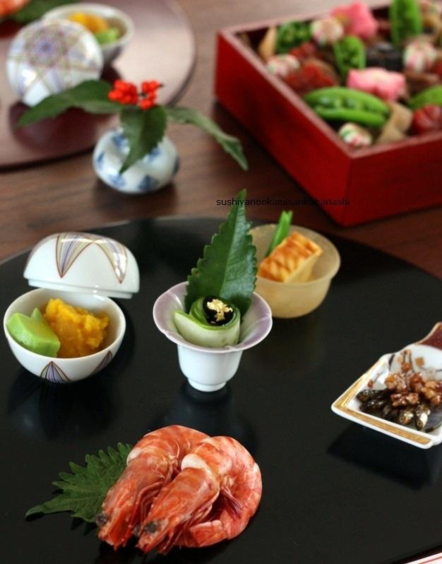 寿司屋のおかみさんのおせち料理