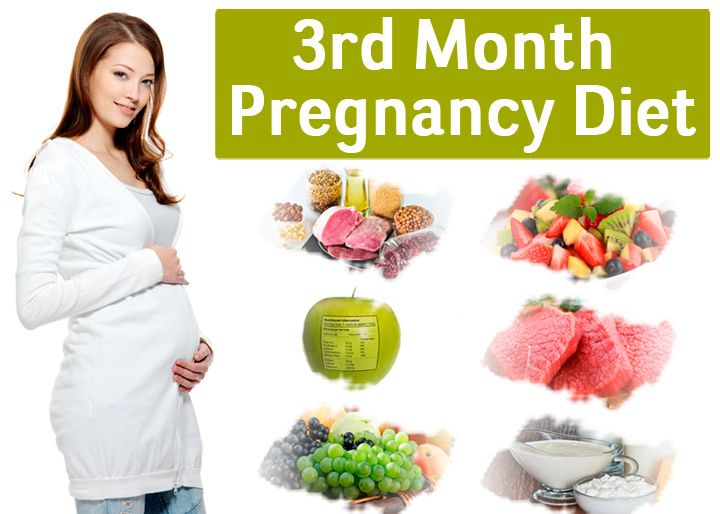 3rd Month of Pregnancy Diet