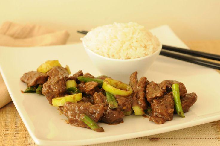 Gourmet, el placer de comer bien » Carne Mongoliana