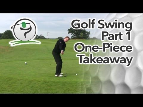Golf Swing Sequence Part 1 - The One Piece Takeaway - YouTube