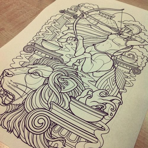 Line Work Design : Best images about lion line drawing tattoos on