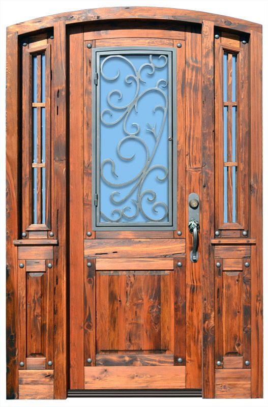 9 Best Images About Wood Iron Front Doors On Pinterest Entry Doors Strength And Entrance Doors