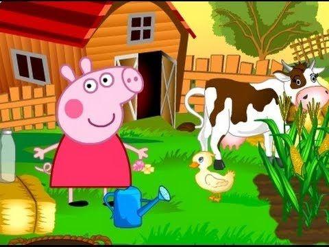 Peppa Wutz Deutsch Neue Folgen Bauernhof by Sukulu TV  faszinierendes Spiel über Peppa Pig Familie zu Hause auf der Grundlage der Animationsfilm mit dem gleichen Namen Peppa Pig! Einführung in das Spiel Peppa Pig: In diesem Spiel wird Peppa Pig mit der Betreuung von landwirtschaftlichen Arbeiten beauftragt, wie Aussaat, Tiere,,, Hilfe Bauernfamilien Tendenz steigend!  Vielen Dank für das Ansehen von Videos!
