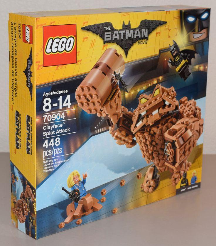 Lego 70904 DC The Batman Movie Clayface Splat Attack