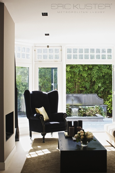 """A Guy Space is necessary.....that piece of the nest that is his...alone....(more than one, of course)...a place to """"chill""""...& places to rest/work/play....... Private Residence, Eric Kuster #interiordesign"""
