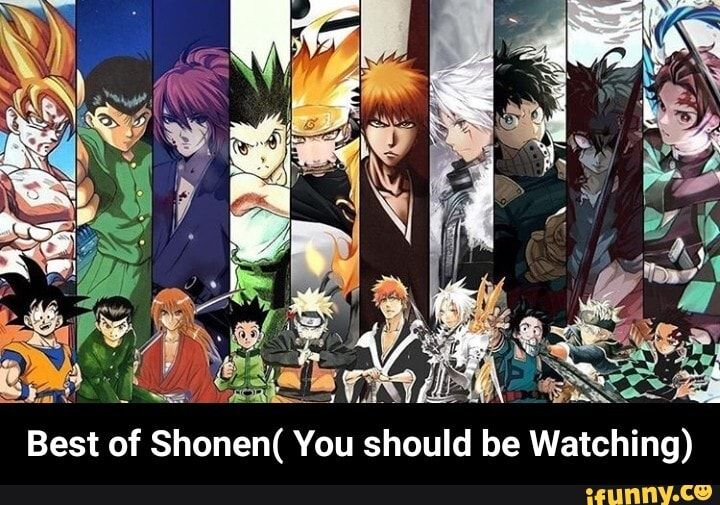 Best Of Shonen You Should Be Watching Ifunny Anime Reccomendations Bleach Anime Anime Fandom