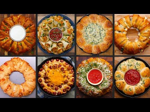 9 Mind-Blowing Food Party Rings - YouTube
