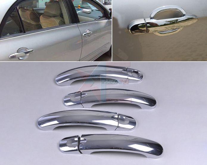 Отслеживание # Новый ABS Chrome Двери Внешняя Ручка Крышки Накладка для VW Jetta MK5 GOLF GTI 2006 2007 2008 2009 2010 стилю