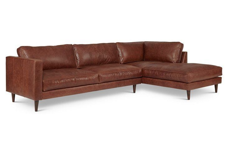 1000 Ideas About Brown Leather Sectionals On Pinterest